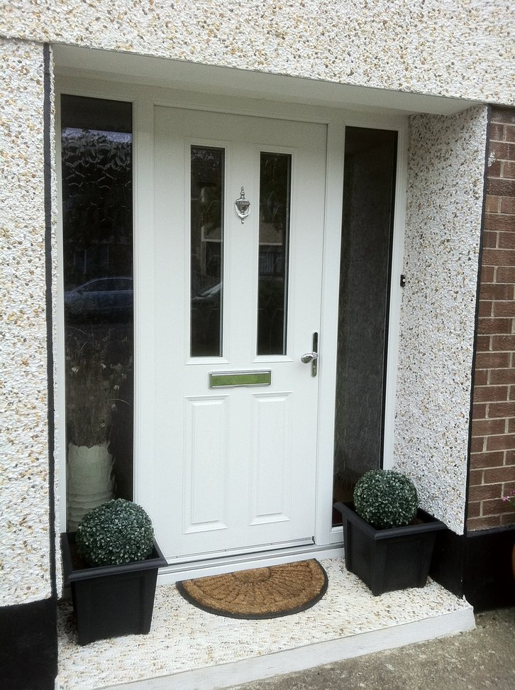 Household Exterior Quality UPVC and Composite Doors